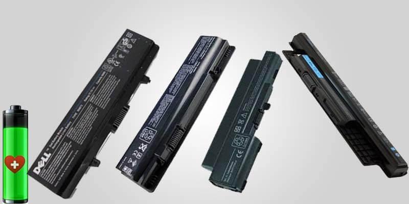 Dell batteries Health