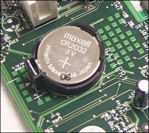 Dell CMOS battery